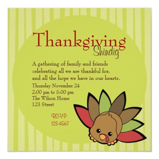 Cutie Turkey Card