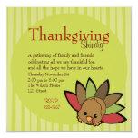 Cutie Turkey Invitation