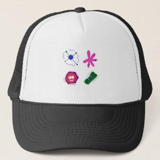 CUTIE VIRUSES. ABSTRACT Painted Art Trucker Hat