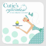 Cutie's Cupcakes - Confections Desserts Pastries Sticker