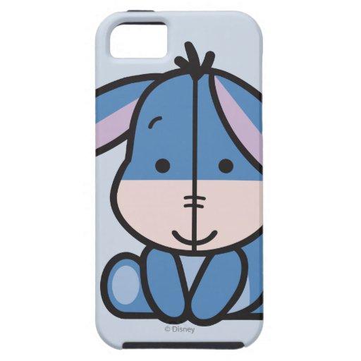 Cuties Eeyore iPhone 5 Fundas