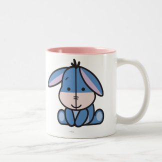 Cuties Eeyore Two-Tone Coffee Mug