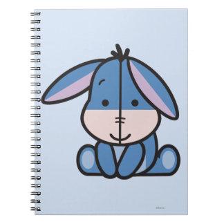 Cuties Eeyore Spiral Notebook