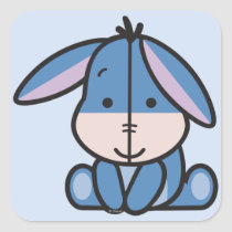 Cuties Eeyore Square Sticker