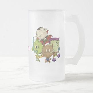 Cuties espeluznante taza
