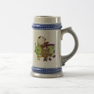 Cuties espeluznante tazas de café