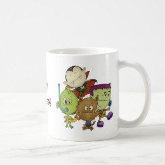 Cuties espeluznante taza de café