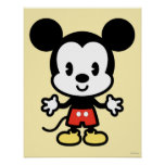 Cuties Mickey Mouse Posters