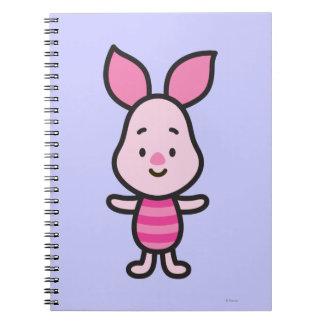 Cuties Piglet Notebook
