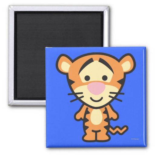 Cuties Tigger Fridge Magnet