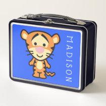 Cuties Tigger Metal Lunch Box