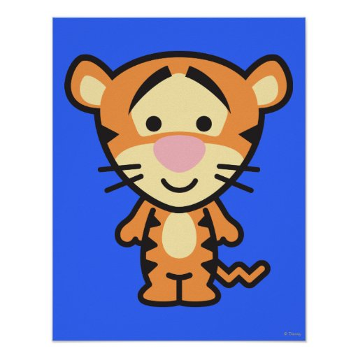 Cuties Tigger Posters