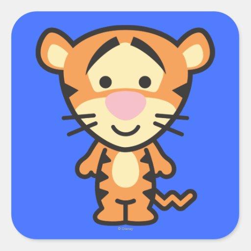 Cuties Tigger Stickers