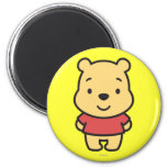 Cuties Winnie the Pooh 2 Inch Round Magnet