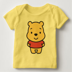 Baby Fine Jersey T-Shirt with Super Cute Winnie the Pooh design