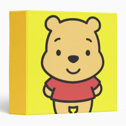 Avery Signature 1' Binder with Super Cute Winnie the Pooh design