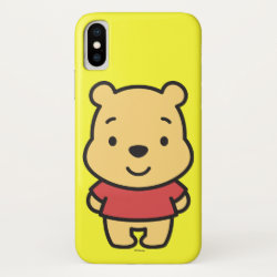Case-Mate Barely There iPhone X Case with Super Cute Winnie the Pooh design