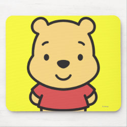 Mousepad with Super Cute Winnie the Pooh design