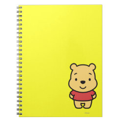 Photo Notebook (6.5' x 8.75', 80 Pages B&W) with Super Cute Winnie the Pooh design