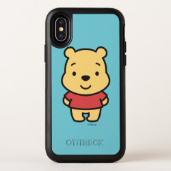 Super Cute Winnie the Pooh OtterBox Apple iPhone X Symmetry Case