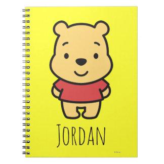 Cuties Winnie the Pooh - personalizado Note Book