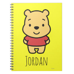 Super Cute Winnie the Pooh Photo Notebook (6.5