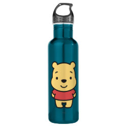 Water Bottle (24 oz) with Super Cute Winnie the Pooh design