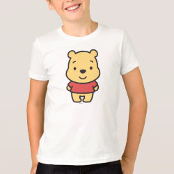 Kids' American Apparel Fine Jersey T-Shirt with Super Cute Winnie the Pooh design