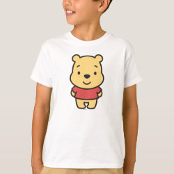 Kids' Hanes TAGLESS® T-Shirt with Super Cute Winnie the Pooh design