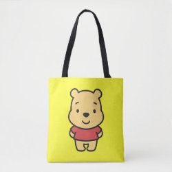 All-Over-Print Tote Bag, Medium with Super Cute Winnie the Pooh design