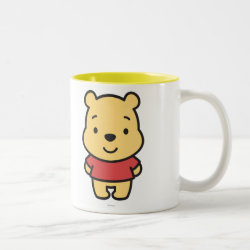 Two-Tone Mug with Super Cute Winnie the Pooh design