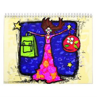 cutis del chica calendarios