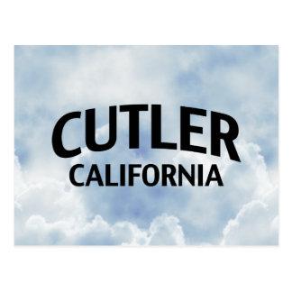 Cutler California Postcard