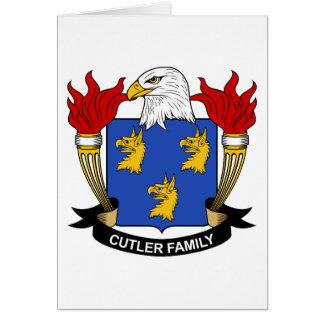 Cutler Family Crest Card