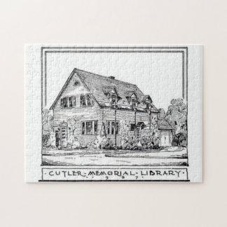 Cutler Memorial Library Jigsaw Puzzle