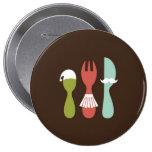 Cutlery - I Love M y Family Pins