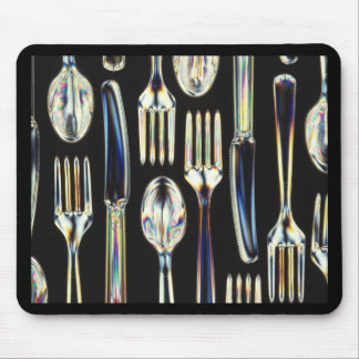 Cutlery Mouse Pad