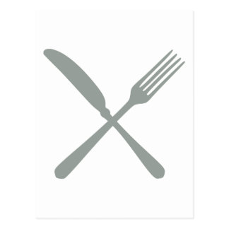 Cutlery Post Card