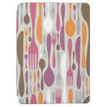 Cutlery Silhouette Icons Pattern 2 iPad Air Cover