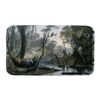 Cutoff River Branch of the Wabash plate 8 from V Case-Mate iPhone 3 Cases