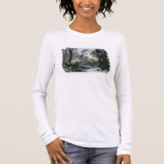 Cutoff River, Branch of the Wabash, plate 8 from V Long Sleeve T-Shirt