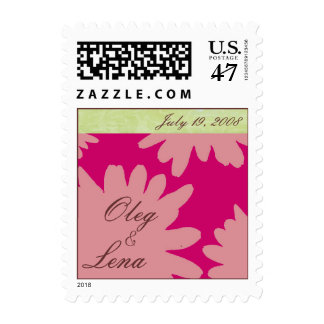 Cutomizable Wedding Postage