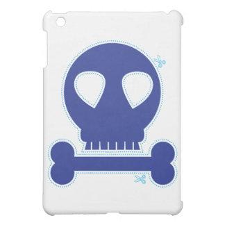 CUTOUT! blue skull boy iPad Mini Case