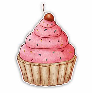 Cutout Cherry Cupcake, Yummy Cupcake Decoration