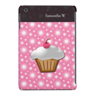 Cutout Cupcake with Pink Cherry on Top iPad Mini Cover