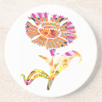 Cutout Floral .. Cookie Cutter Design Drink Coaster