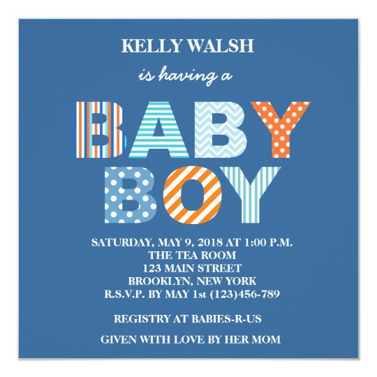 Cutout letters boy baby shower invitation zazzle cutout letters boy baby shower invitation stopboris Image collections