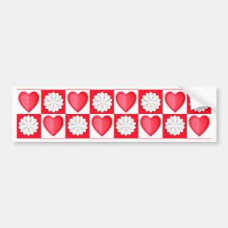 Cutout Love Bumper Sticker