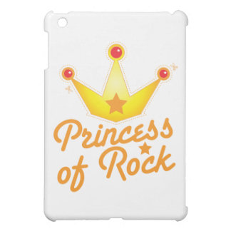 CUTOUT! Princess of rock Rockabilly design iPad Mini Cover