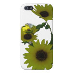 Cutout Wild Sunflowers iPhone 5 Cover